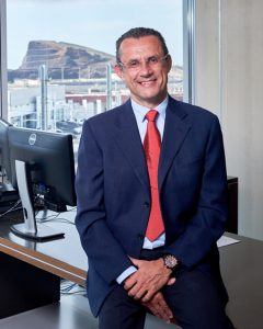 Andrés Muñoz de Dios Rodríguez, director-gerente de Metrotenerife.