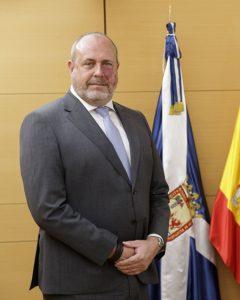 Enrique Arriaga Álvarez, presidente de Metrotenerife.